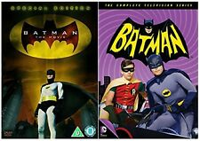 ADAM WEST IN DC COMICS SUPERHERO BATMAN THE MOVIE  / BATMAN TV SERIES DVD New R2