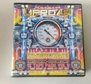 Rave Tape 12 Pack Old Skool Techno Uproar Presents Maximum Overload Sept 2005