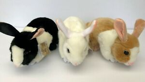 "Bocchetta Plush Toys Rabbits ""Most Realistic Plush Bunnies NWT"