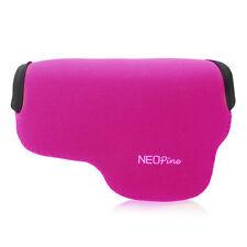 Purple Neoprene Camera Case Bag for SONY A6000