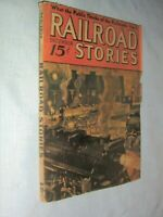 Vintage December,1936,Railroad Stories Magazine,Pulp,Fiction/Features/Ads,Rare