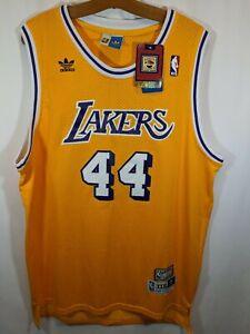 Los Angeles Lakers Jerry West sz XXXL* Jersey Adidas Soul Swingman New NWT
