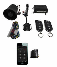 Car Alarm Security Keyless Entry Scytek G27 + Mobilink App G3 GPS Tracker Combo