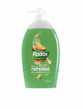 2 x Radox Sensation Rafraîchi Avec Eucalyptus & Agrume Huile Gel Douche 1 Litre