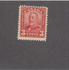 CANADA # 151 FVF-MNH 3cts DEC.1928 KING GEORGE V SCROLL /DRK CARM  CAT VALUE $60