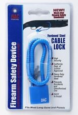 New Dac Technologies Cl551 Firearm Safety Device Hardened Steel Cable Lock