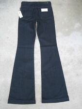 AG ADRIANO GOLDSCHMIED The Janis High Rise Flare Sz 28  Dark Blue New !  $198