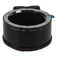 Fotodiox Pro Lens Mount Adapter Leica R SLR lenses to Nikon Z Camera