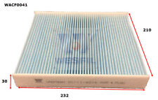 WESFIL CABIN FILTER FOR Ford Focus 2.0L 2007-03/09 WACF0041