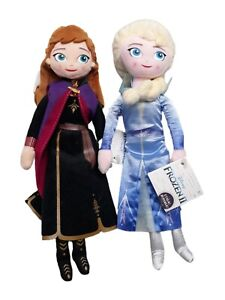 Disney Classic Collection Frozen ll Elsa & Anna Doll Set I TALK! Plush
