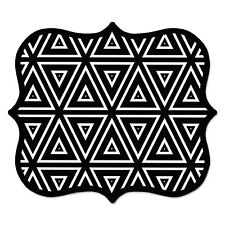 Fellowes Designer Mouse Pads Geometric Triangles 9 x 8 x 3/16 5919201