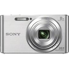 Sony DSC-W830 Kompaktkamera Silber 20,1 Megapixel  8x optischer Zoom 6,8 cm