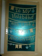American  greeting card -Happy Anniversary To My Husband with Love