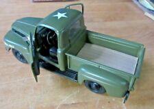 Maisto 1948 Ford F-1 Pickup Truck 01417 w Harley Davidson Logo Green Korean War