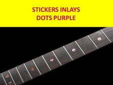 STICKER INLAY DOTS ABALONE PURPLE VISIT MY STORE FOR CUSTOMIZED GUITAR & BASS