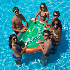 Swimline Blackjack Table with Waterproof Cards Swimming Pool Floating Table