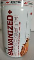 GALVANIZED/RIPPED Advanced Nutrition PreWorkout Orange Soda Flavr Qty Discounts!