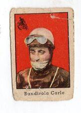 FIGURINA NANNINA  TECNICOLOR 2° SERIE  APRILE  1947    MOTOCICLISMO  BANDIROLA