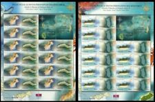 Islands And Beachs of Malaysia 2003 Coral Fish Map Tourist (sheetlet MNH *emboss