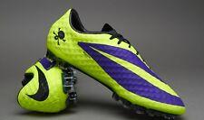 c7d942deaff5 Sport: Soccer. NIKE HYPERVENOM PHANTOM FG (Purple/Black/Volt) 2 PAIRS 6.5-7