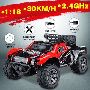 1:18 RC Auto Ferngesteuertes Geländewagen Offroad Car Monstertruck Spielzeug LKW