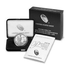 2018-W American Platinum Eagle Proof 1 oz $100 (18EJ) in OGP