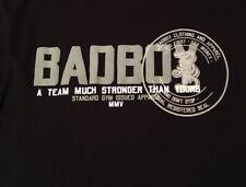 MMA BADBOY LARGE BLACK GRAPHIC T-SHIRT FAST FREE SHIPPING