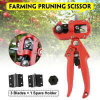 Garden Farming Pruning Shears Scissor Grafting Tool Cutting Fruit Tree Set