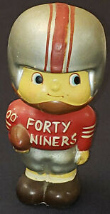 1960's - SAN FRANCISCO 49ers - NFL - BOBBING /BOBBLE HEAD NODDER - ORIGINAL