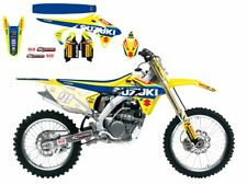Suzuki RMZ250 2010 2011 2012 2013 Sticker Kit Graphics & Seat Cover