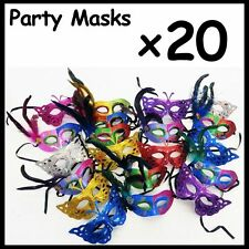 WHOLESALE LOT of 20 Party Masks Venetian Ball Party Costume Opera ***20 MASKS***