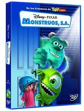 Pelicula DVD monstruos S.A. Walt Disney