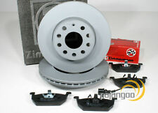 VW Golf 7 VII - zimmermann Discos de Freno Pastillas Cable Advertencia Für