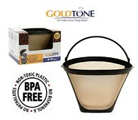 GoldTone Reusable #4 Cone Coffee Filter for Ninja Coffee Makers and Brewers