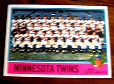 1976 TOPPS #556 TWINS TEAM CARD NM-MT**UNMARKED**NO CREASES OR WRINKLES