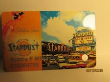 Stardust Casino-45th anniverary Players Card- las Vegas ,Nv.- (now closed)- mint