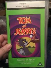 Tom And Jerry World Of Sport Vhs Video Rare