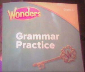 Wonders Grammar Practice Grade 4 brand new