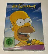 4 DVD Box TV-Serie Die Simpsons die komplette Staffel Season 19