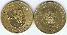 Wojewodztwo Pomorskie 2004 2 Zl Muenze Nordic Gold Bfr,