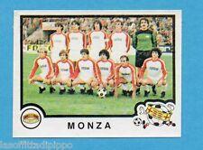 PANINI CALCIATORI 1982/83 -Figurina n.488- MONZA - SQUADRA -Rec