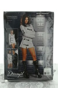 DreamGirl Anita Seductive Party Costume White Style 5906 1X/2X (UK18-20)