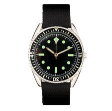 EAGLEMOSS REPLICA MILITARY WATCH - GERMAN NAVY COMMANDO - NEW & BOXED £3.50 !!