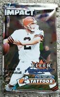 2000 Fleer SkyBox Impact Football Hobby Pack - Tom Brady Rookie RC?!