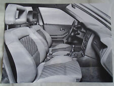 Audi 80 quattro 16v Interior press photo Sep 1989