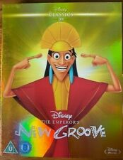 THE EMPEROR'S NEW GROOVE (DISNEY) [BLURAY] NEW & SEALED + SLIPCOVER