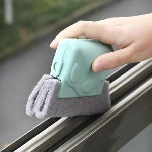 Window Door Track Cleaning Brush Gap Dust Cleaner Groove Sliding Tools Magic Hot