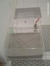 "Cat Box Supreme Litter Box, 24"" x 21"" Litter Area; 12"" walls to contain litter"