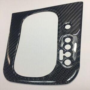 Auto Gear Shift Panel Real Carbon Fiber Cover Sticker For VW Golf 6 MK6 09-13