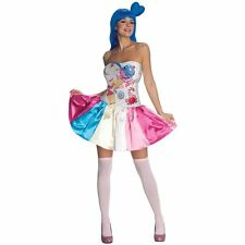 KATY PERRY COSTUME! CANDY CALIFORNIA GIRL WOMEN'S ADULT SIZE RUBIE'S NEW [SMALL]